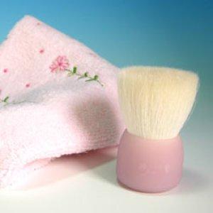 画像1: 高級洗顔ブラシ 花こすめL