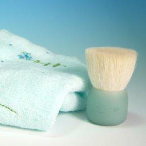 画像1: 高級洗顔ブラシ 花こすめS